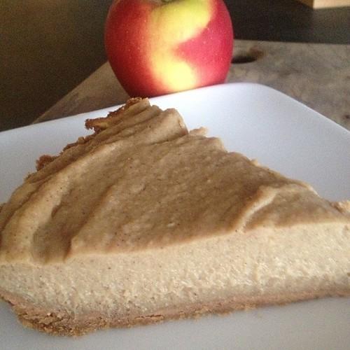 Slice of parsnip pie is an outstanding breakfast. #vegan
