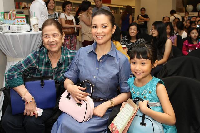 Mommy Ligaya, Lea Salonga, and Nicole