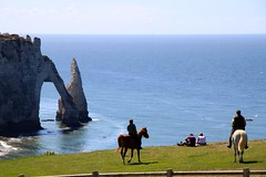 Horse Riding at Étretat