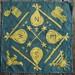 'compass' batik . hanky for ben david by Sani_