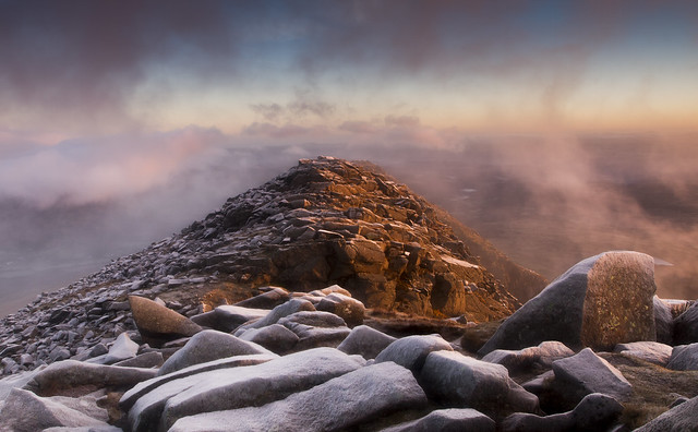 The Awakening - Dawn breaks on Moel Siabod's North East Ridge