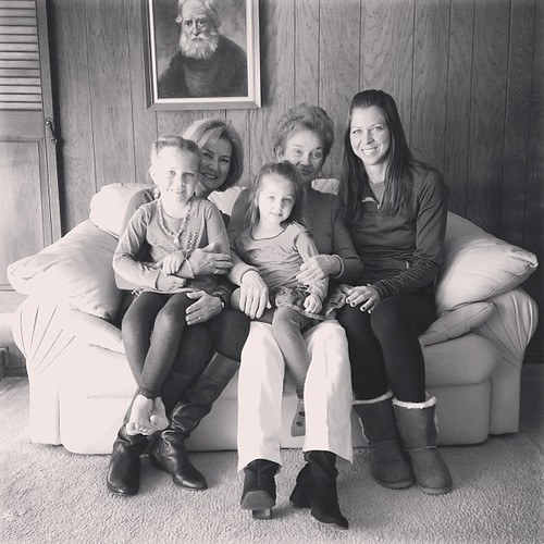 Four generations of girls.