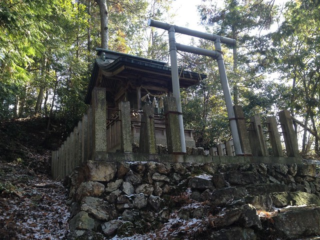 城台山 白山神社