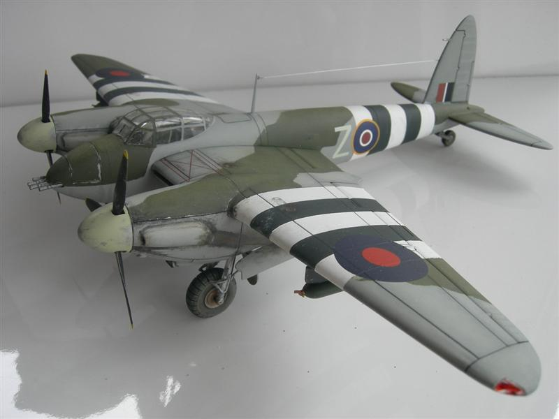 mosquito as model aeroplane