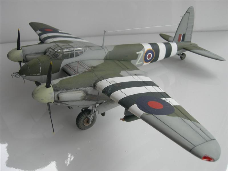 mosquito as model aeroplane