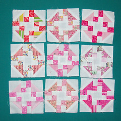 Mini Prairie Queen Blocks