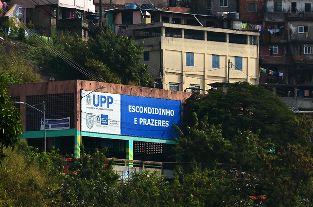 UPS de pacificación de favelas en Rio de Janeiro