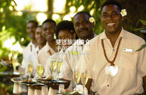 独有的斐济酒店文化