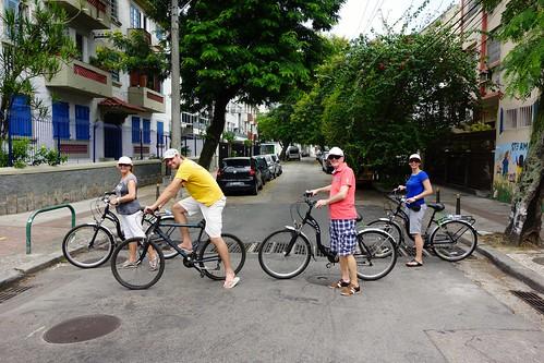 Cycling Botafogo in Rio