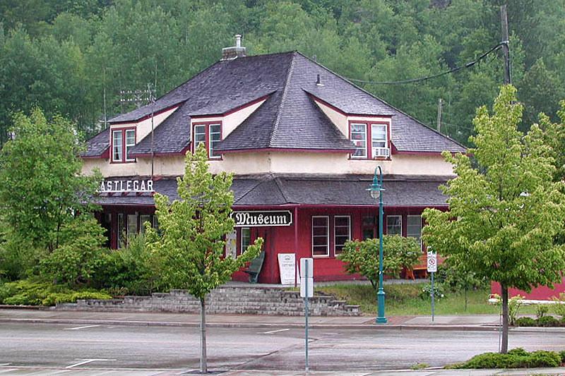 Castlegar Museum, Castlegar, Columbia Valley, Kootenay Rockies, British Columbia, Canada