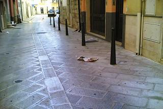 Noicattaro. Basolatura centro storico front
