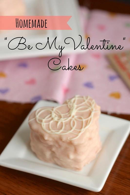 Be my valentine cakes