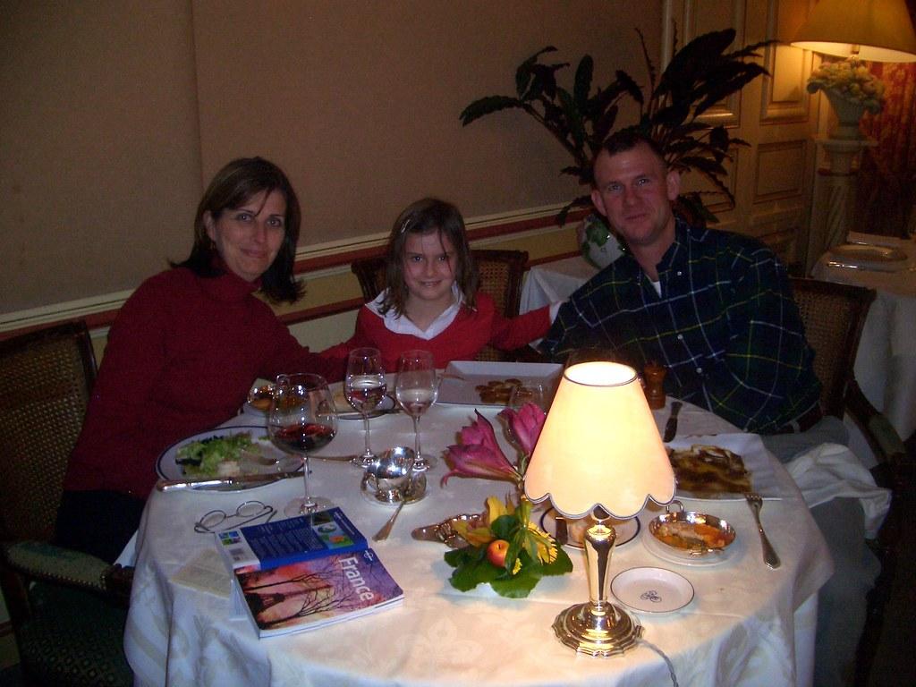 Beaune, Thanksgiving dinner