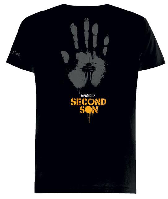 inFAMOUS Secon Son T-Shirt