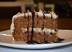 cake, baking, carrot cake, baked goods, food, dish, dessert,