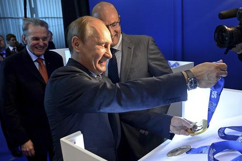 Russia Putin Olympic