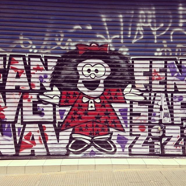 Mafaldita #buenosaires