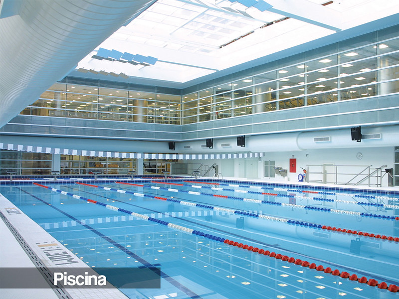 Reebok sports club for Piscina olimpia belgioioso