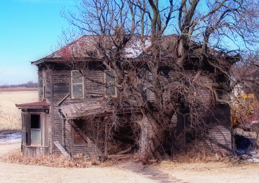 Abandoned in Kansas.