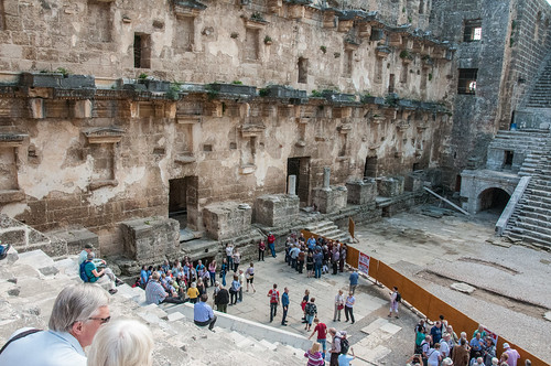 turkey theatre roman aspendos antalyaprovince
