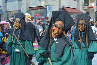 Fastnacht witches