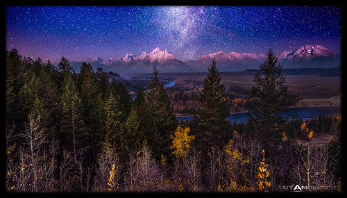 Teton Afterglow