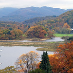 Autumn  Colours  - Near Waterhead, Ambleside - Cumbria - UK
