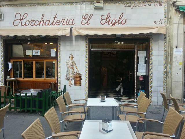 Horchateria El Siglo Valencia