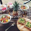 Healthy Eating Planner - Good Food makes Good Day