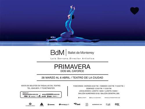 Temporada Primavera 2014 del Ballet de Monterrey
