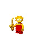 LEGO Simpsons Minifigures - Lisa Simpson