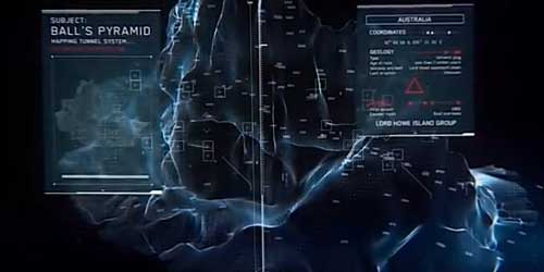 The location for  the next Call of Duty Ghosts Extinction map is Balls Pyramid