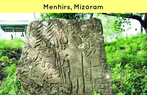 Menhirs Mizoram Culture
