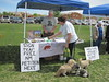 WildEarth Guardians table at Pet Food Gone Wild Easter Event