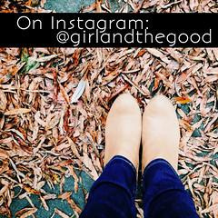 Instagram @girlandthegood