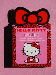 Hello Kitty sticking plasters