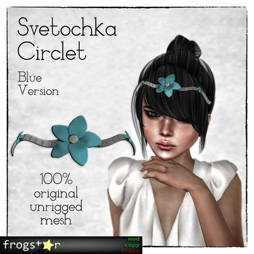 Frogstar - Svetochka Circlet Poster (Blue)