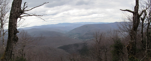 Balsam Mountain view