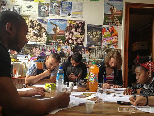 Da-Mas, atelier au Comité de quartier de l'Hommelet