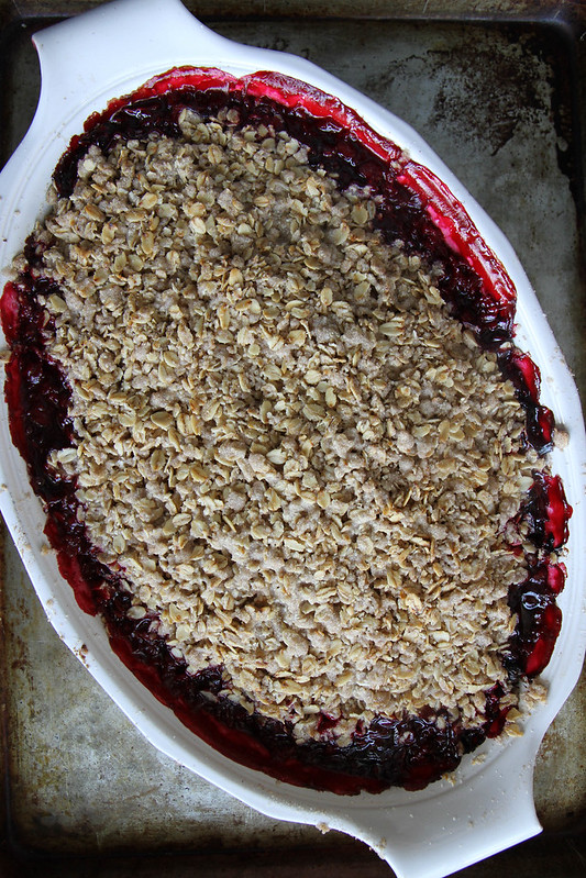 Raspberry Crisp, gluten free vegan and cane sugar free