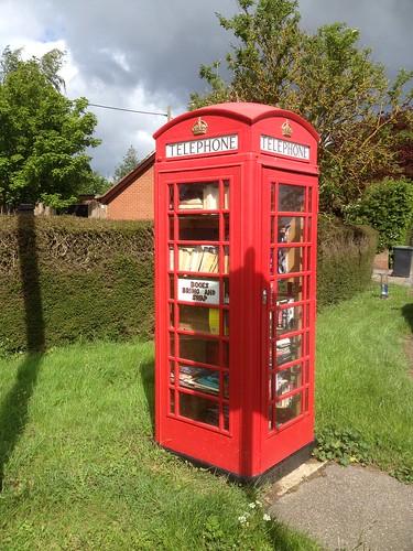 Ringshall Telephone Box book exchange
