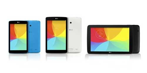 LG releasing three new G Pad tablets