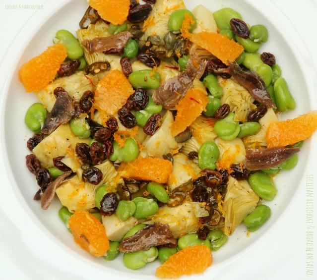 Sicilian Artichoke & Broad Bean Salad 1