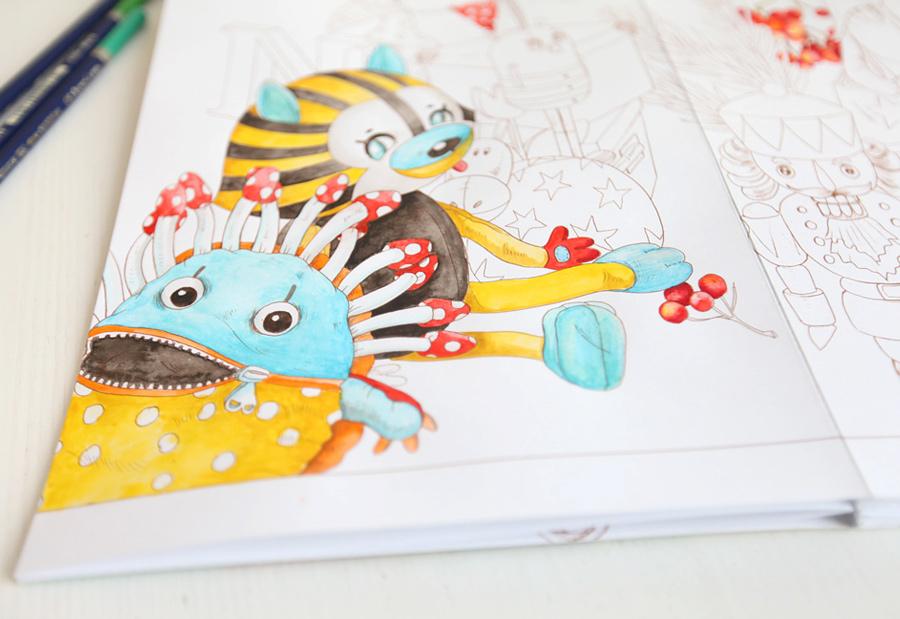 """My coloring book """"Tami and Sami"""""""