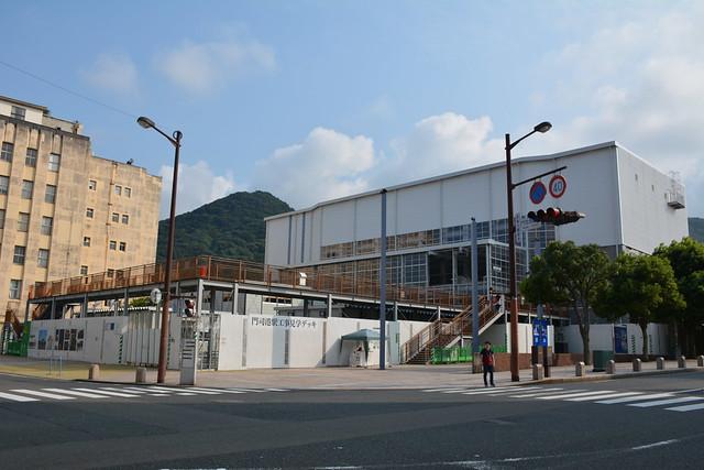 保存修理工事中の門司港駅