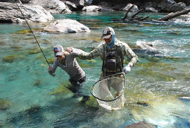 New Zealand Fly Fishing Cedar Lodge