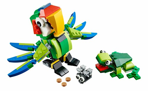 LEGO Creator 31031 Rainforest Animals 00