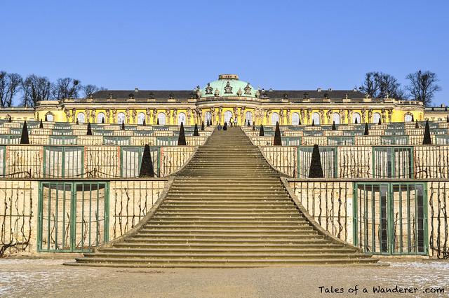POTSDAM - Park Sanssouci - Schloss Sanssouci