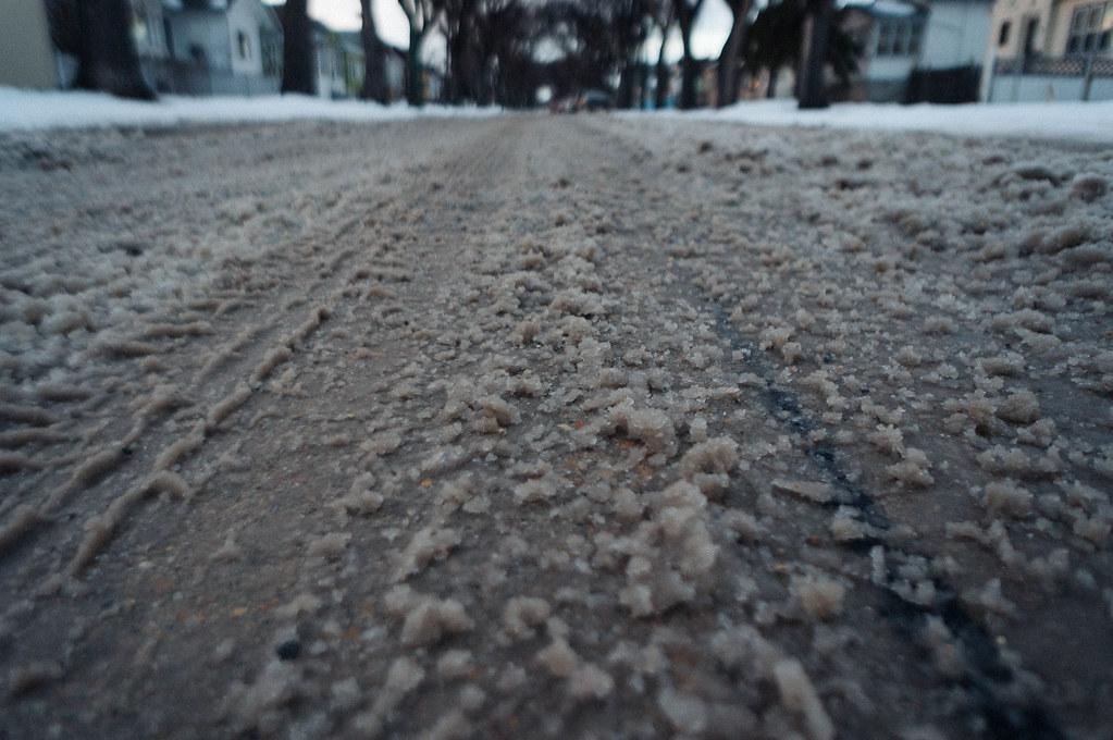 Sloppy road