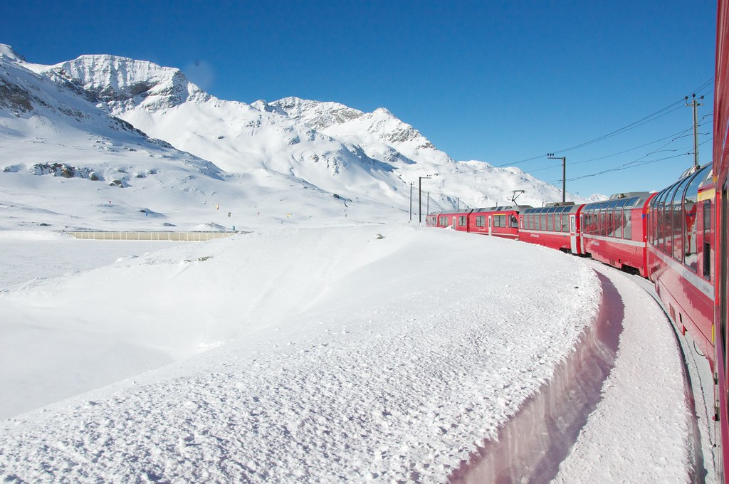 Trenino Rosso del Bernina - Rhätische Bahn